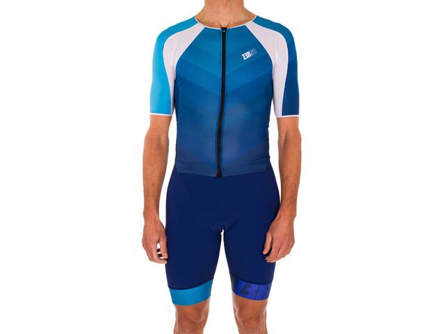 Z3R0D Racer Time Trial Trisuit Men, dark blue/atoll (2019) | swim_clothes